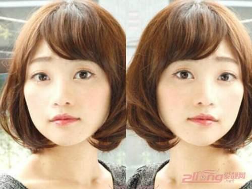 圆脸适合什么发型女2022图片_WWW.66152.COM