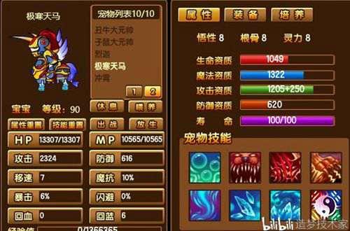 造梦西游宠物极限全展示_WWW.66152.COM