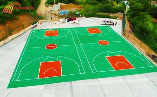 塑胶篮球场建设方案_WWW.66152.COM