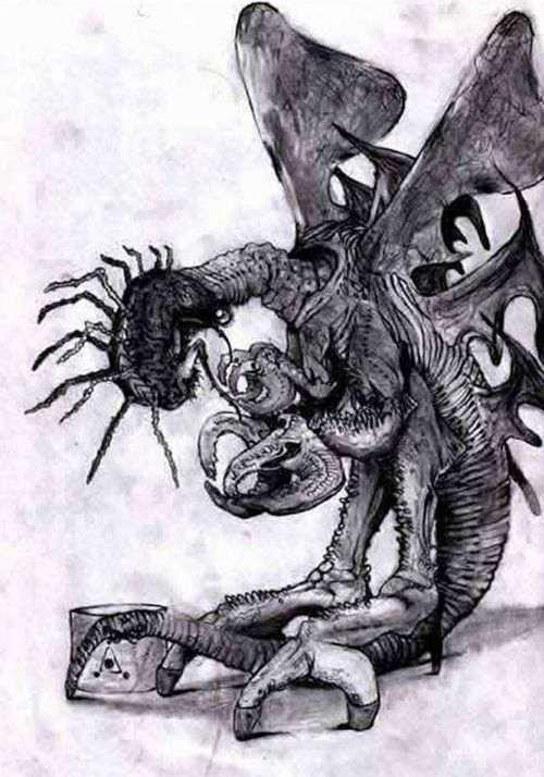 克苏鲁神话生物科普米戈_WWW.66152.COM