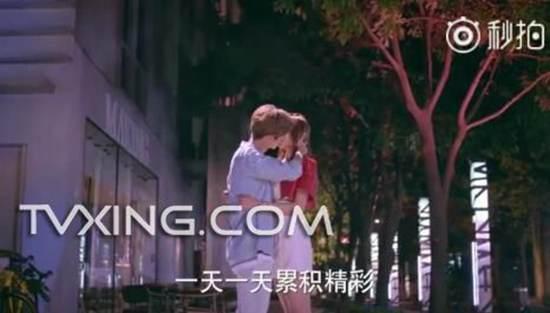 甜蜜暴击鹿晗关晓彤吻戏来了_WWW.66152.COM