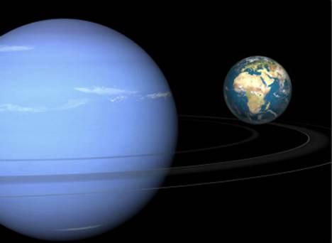 躺在轨道上运行的天王星_WWW.66152.COM