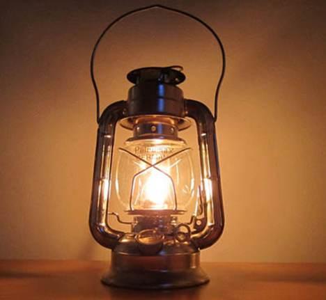 为什么煤油灯需要借助灯芯才能燃烧_WWW.66152.COM