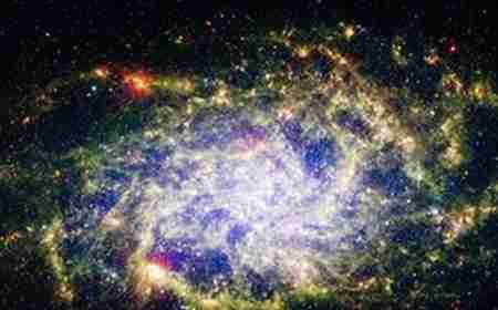 宇宙已知三个星系 银河系只排第三_WWW.66152.COM