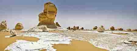 埃及法拉夫拉沙漠 白色沙漠_WWW.66152.COM