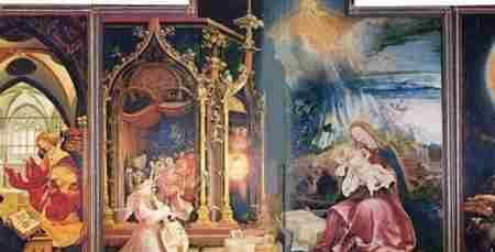 伊森海姆祭坛画的作者之谜_WWW.66152.COM