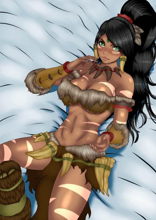 狂野女猎手奈德丽同人漫画_WWW.66152.COM