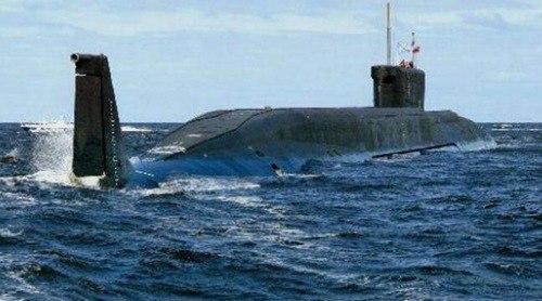 世界上最大的核潜艇_WWW.66152.COM