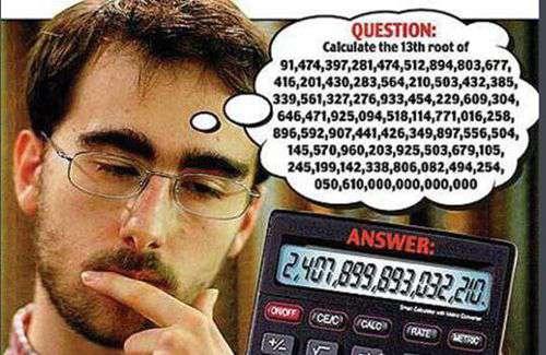 世界上心算速度最快的人_WWW.66152.COM