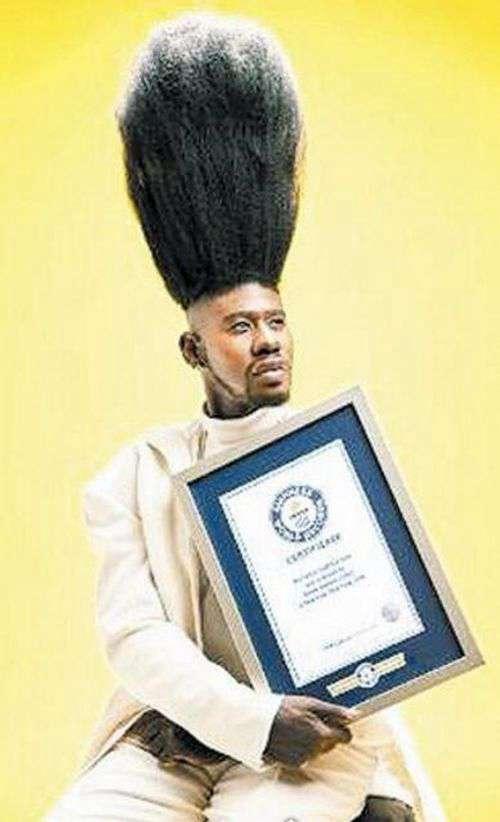 世界上最高的莫西干发型_WWW.66152.COM
