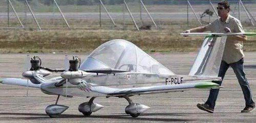 最小飞机超微型飞机蟋蟀cricri_WWW.66152.COM