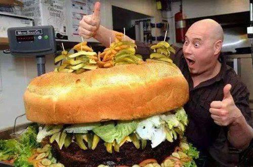 世界上最大的汉堡_WWW.66152.COM