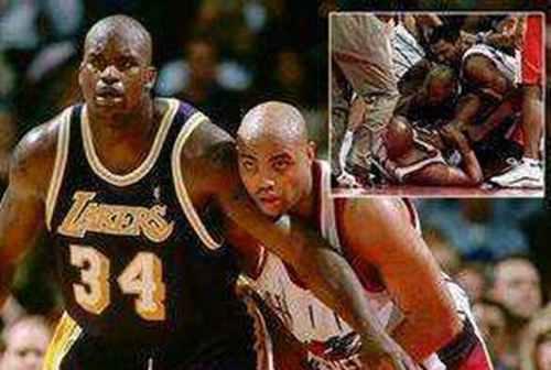 图说NBA史上15大斗殴事件_WWW.66152.COM