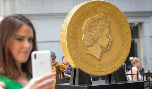 世界最贵金币重达一吨_WWW.66152.COM