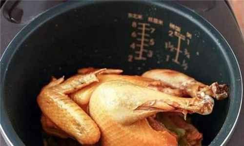电饭锅煲鸡的方法_WWW.66152.COM